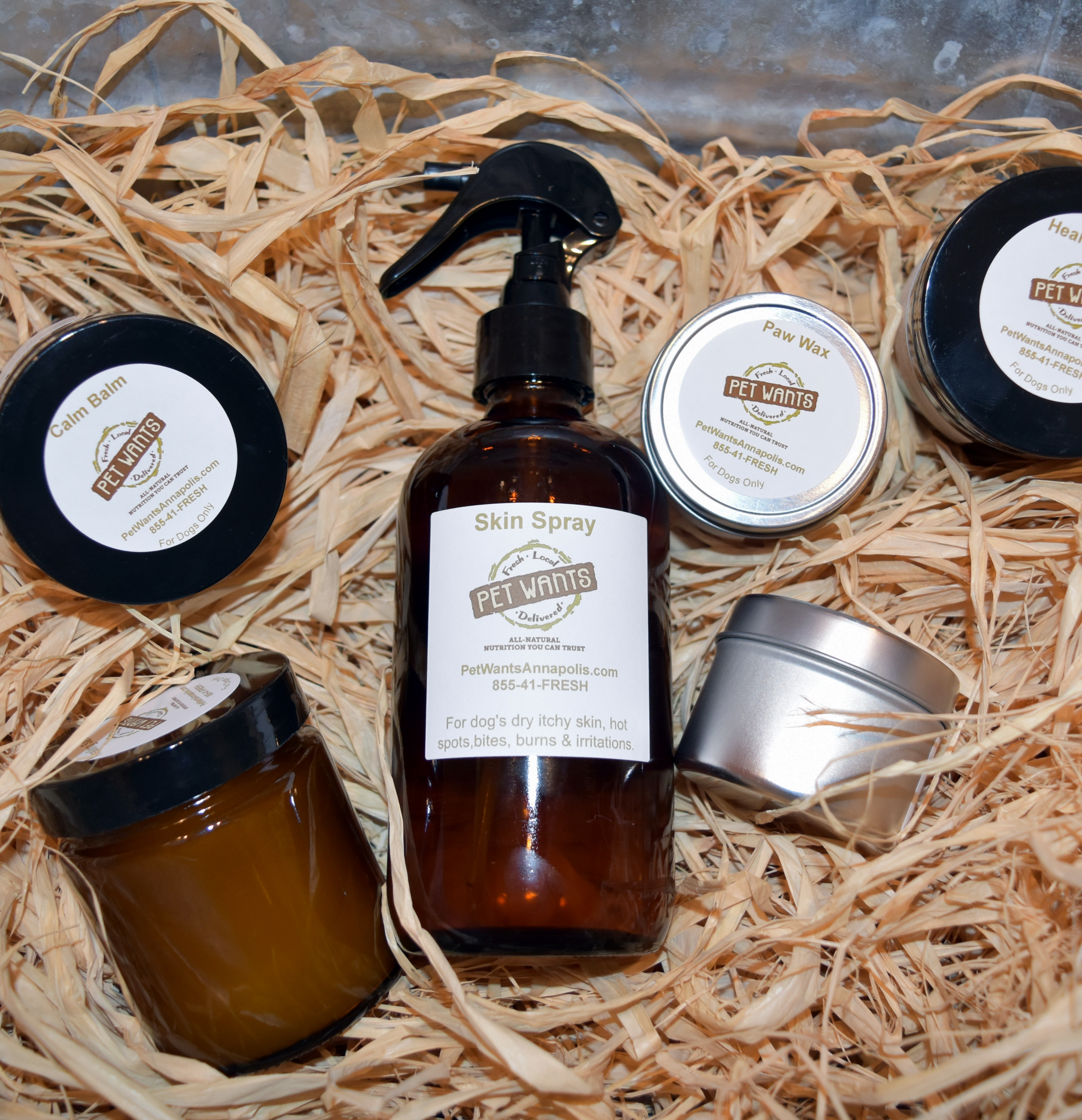 Housemade Balms, Salves and Sprays